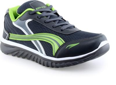 Rockstep Grey P Green Men,S Sport Running Shoes