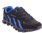 Gcollection Running Shoes (Black, Blue)