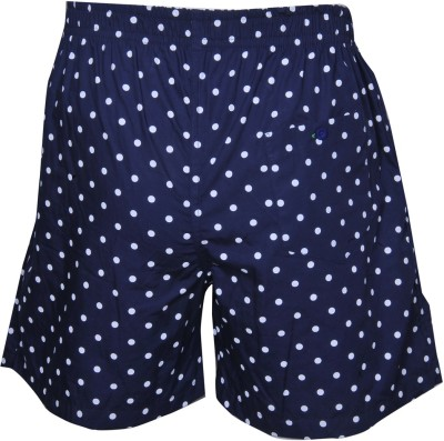 ArcticPlus Printed Men's Blue Boxer Shorts