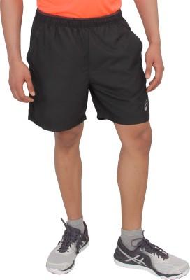 Asics Woven Men's Black Running Shorts
