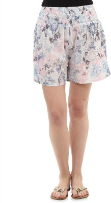 Oxolloxo Printed Women's Multicolor Night Shorts