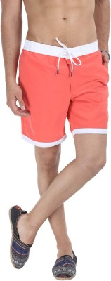 Zobello Self Design Mens Multicolor Swim Shorts