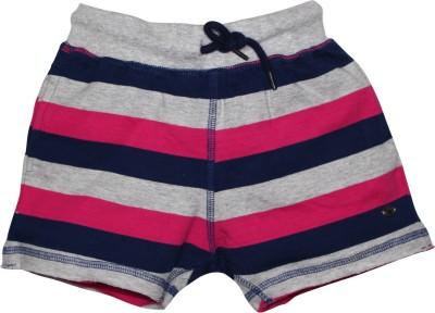 FS Mini Klub Printed Girl's Pink Basic Shorts