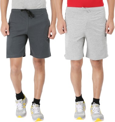 Malo Printed Men's Grey, Grey Basic Shorts