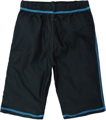Oye Solid Boy's Grey Basic Shorts