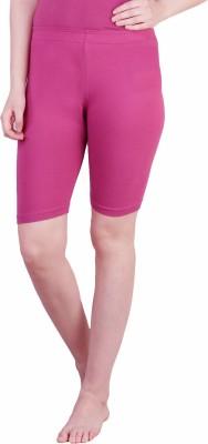 Rham Solid Women's Purple Basic Shorts
