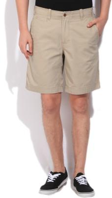 Gant Solid Men's Beige Basic Shorts