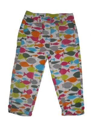 Cub Printed Girl's Multicolor Basic Shorts