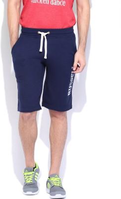 Russell Athletic Solid Men's Dark Blue Basic Shorts