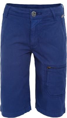 FS Mini Klub Solid Boy's Dark Blue Basic Shorts