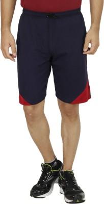 Rakshita Collection Solid Men's Blue Sports Shorts