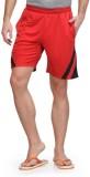 Dazzgear Striped Men's Red, Black Sports...