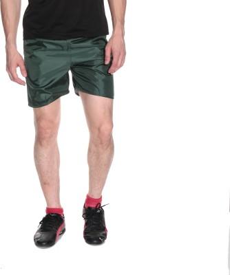 Fizzaro Solid Men's Reversible Green Boxer Shorts