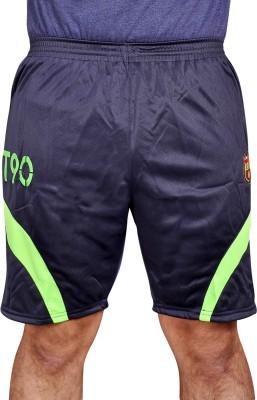 Leedo Solid Men's Blue, Green Boxer Shorts