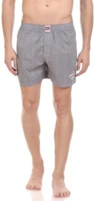 California Club Checkered Men's Blue Boxer Shorts