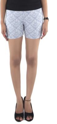Vostro Moda Printed Women's Light Blue Basic Shorts