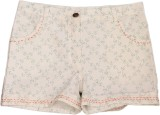 Nana Short For Girls Cotton Linen Blend,...