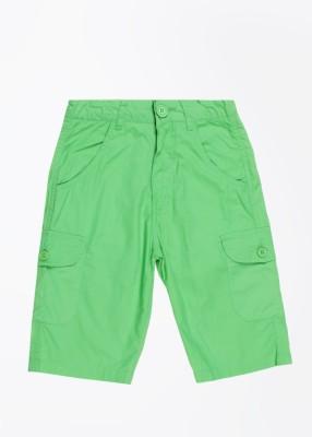 612 League Boy's Green Basic Shorts