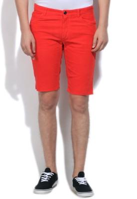 Gant Striped Men's Red Basic Shorts