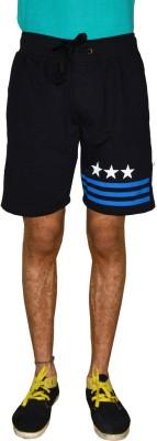 Gen Solid Men's Black Running Shorts