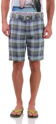 Jack & Jones Checkered Men's Multicolor Basic Shorts