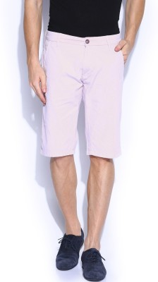 GAS Solid Men,s Purple Chino Shorts