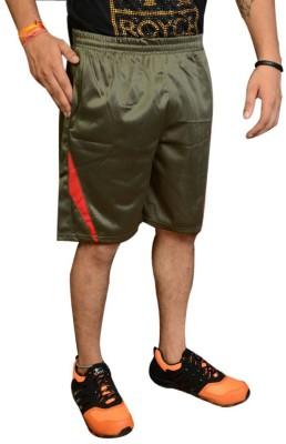 Jarwal Collection Self Design Men's Green, Orange Basic Shorts