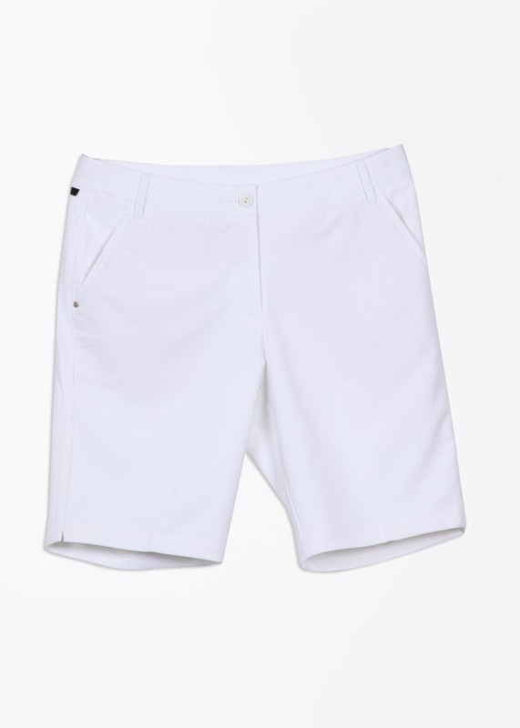 Puma Solid Women's White Basic Shorts