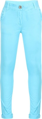Miss Alibi by Inmark Solid Girl's Blue Basic Shorts