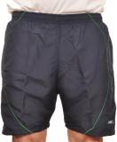 Zagros Solid Men's Blue Sports Shorts, B...