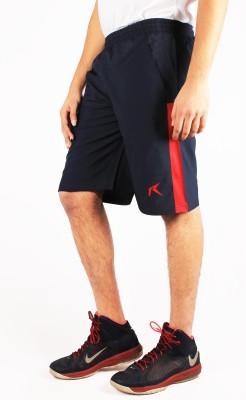 Repugn Woven Men's Dark Blue Sports Shorts