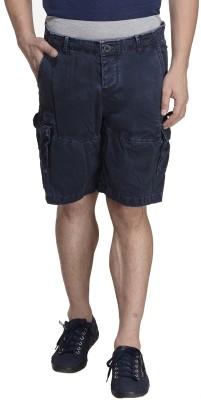MONTEIL & MUNERO Solid Men's Dark Blue Boxer Shorts