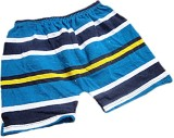 DCS Short For Boys Striped Cotton Linen ...