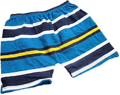 DCS Striped Baby Boy's Multicolor Basic Shorts