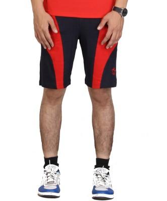 Vego Self Design Men,s Dark Blue Bermuda Shorts