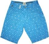 Rasonn Printed Men's Blue, White Basic S...