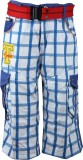 Oil and Grease Short For Boys Cotton Lin...