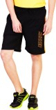 Bexter Solid Men's Black Bermuda Shorts