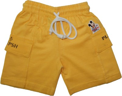 PLIPSH Slim Fit Boy's Yellow Trousers