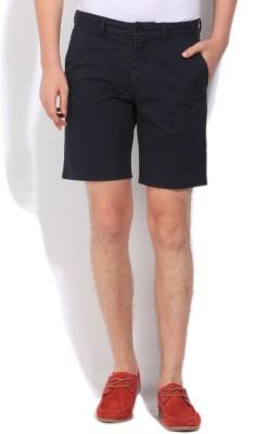 Gant Solid Men's Black Basic Shorts