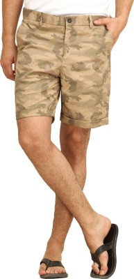 Fio Solid Men's Multicolor Basic Shorts