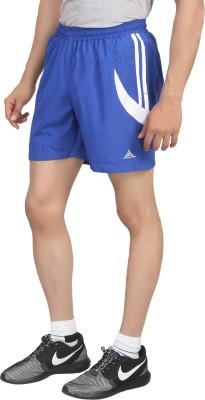 Hannspree Solid Men's Blue, White Gym Shorts