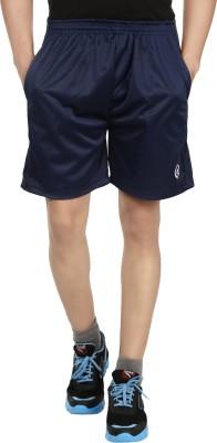 Forever19 Solid Men's Dark Blue Basic Shorts