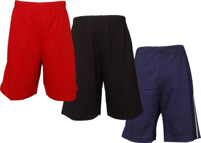 Little Stars Short For Boys(Multicolor, 4 - 5 Years, Pack of 3)