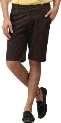 Stylz Solid Men's Black Basic Shorts