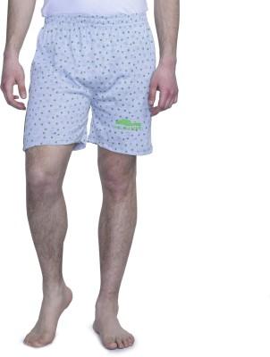 ALIGATORR Printed Men's Grey Night Shorts