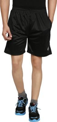 Forever19 Solid Men's Black Basic Shorts