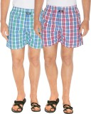 Seals Checkered Men's Multicolor Boxer S...
