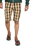 You Checkered Men's Brown, Beige Night S...