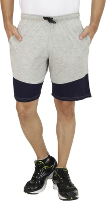 Rakshita's Collection Solid Men's Grey Basic Shorts